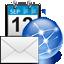 69 Blue Animated Clock iWidget - 1.0
