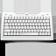 5-Row Mongolian iPad Keyboard - 1.0-1
